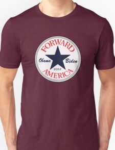 Obama Forward 2012 Women's T Shirt Unisex T-Shirt