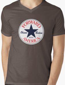 Obama Forward 2012 Women's T Shirt Mens V-Neck T-Shirt