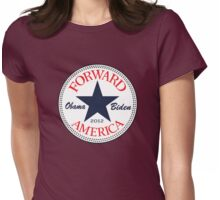 Obama Forward 2012 Women's T Shirt Womens Fitted T-Shirt