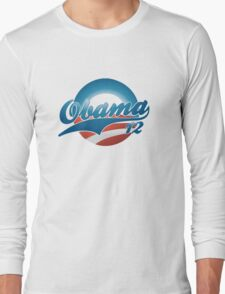 Vintage Obama 12 Women's Shirt Long Sleeve T-Shirt