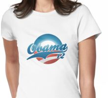 Vintage Obama 12 Women's Shirt Womens Fitted T-Shirt