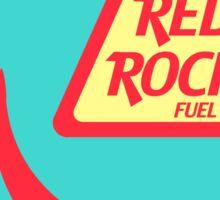 Red Rocket Fuel Station Sticker