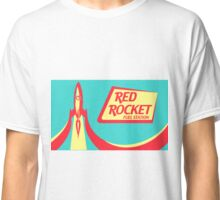 Red Rocket Fuel Station Classic T-Shirt