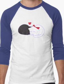 Kitty Love Men's Baseball ¾ T-Shirt