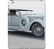 1934 Packard 1104 Super Eight Dual Cowl Phaeton iPad Case/Skin