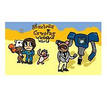 Animal Crossing - Wasteland World Photographic Print