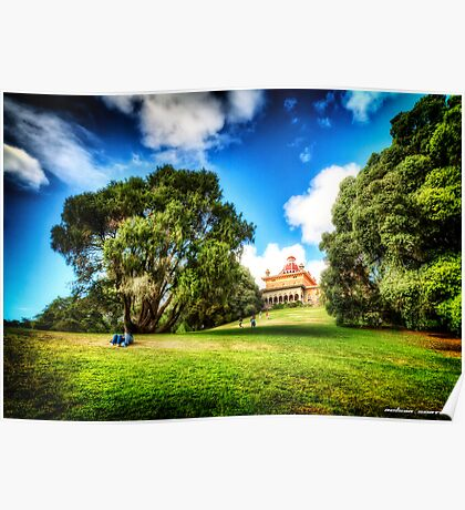 Garden of Stone - Sintra Monserrate Poster