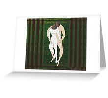 Naive Embrace Greeting Card