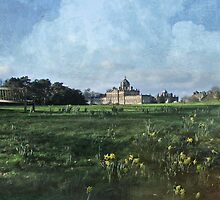 Castle Howard in Spring by Jean Turner