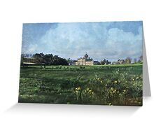 Castle Howard in Spring Greeting Card