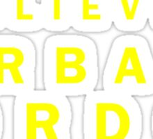 I Believe in Barbara Gordon Sticker