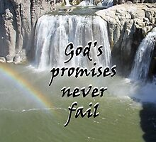 """God's promises never fail."" by Carter L. Shepard by echoesofheaven"