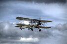 Fairey Swordfish II LS326 by Nigel Bangert
