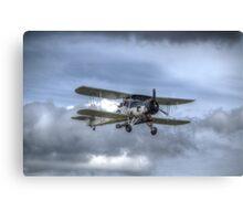 Fairey Swordfish II LS326 Canvas Print