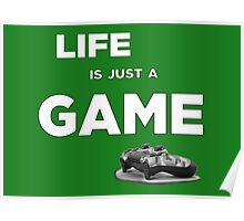 Life is just a game, ps4 camo pad popart 2 Poster
