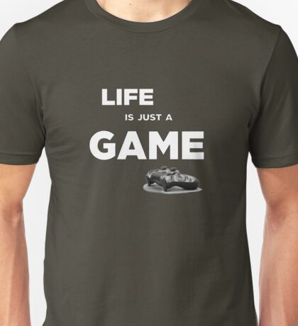 Life is just a game, ps4 camo pad popart 2 Unisex T-Shirt