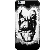 Lobo (w/ Grunge Background) iPhone Case/Skin