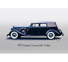 1935 Packard Convertible Sedan w Title Photographic Print