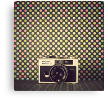 Retro Camera  Canvas Print