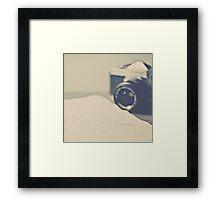 Film Camera  an Love Letter  Framed Print