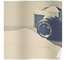 Film Camera  an Love Letter  Poster