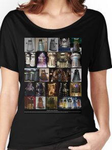 Dalek Variants Women's Relaxed Fit T-Shirt