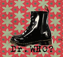 Dr. Who? retro pattern1 by AdarvePhtcllage