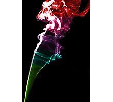 Smoke Trails Photographic Print