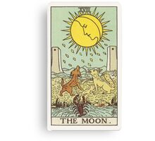Tarot - The Moon Canvas Print