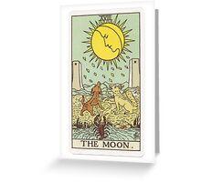 Tarot - The Moon Greeting Card
