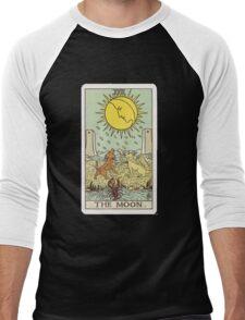 Tarot - The Moon Men's Baseball ¾ T-Shirt