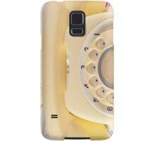 Retro Yellow Telephone  Samsung Galaxy Case/Skin