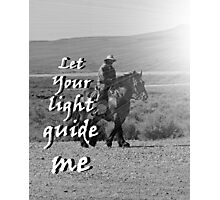 """Let Your light guide me"" by Carter L. Shepard Photographic Print"