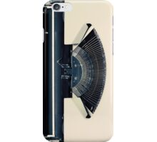 Retro Typewriter iPhone Case/Skin