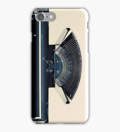 Retro Typewriter iPhone Case/Skin
