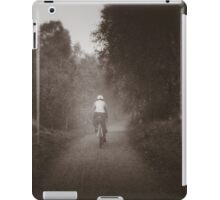 A foggy ride iPad Case/Skin