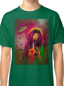 Keanu Jesus Antique Oil Classic T-Shirt