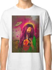 Keanu Jesus Antique Oil Classic T-Shirt