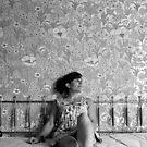Jaw Boning- Self Portrait Abandoned Hotel, NY by kailani carlson