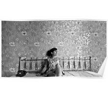 Jaw Boning- Self Portrait Abandoned Hotel, NY Poster