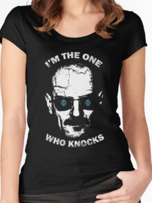 I'm the one who knocks Women's Fitted Scoop T-Shirt