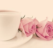 Coffee and Roses  by Andreka