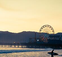 Santa Monica Surf by YoungSwanDesign