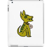 Light Green Cartoon Dog iPad Case/Skin
