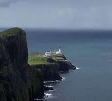 Neist Point Lighthouse by Karen Marr