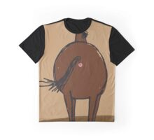 Bob's Burgers - Art Crawl - Anus Paintings - Horse! Graphic T-Shirt