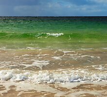 Green surf by Karen Marr