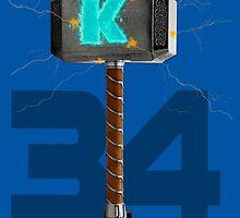 Syndergaard's Hammer (w/ Orange K) by enfuego360