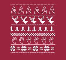 Ugly Christmas on USS Enterprise Long Sleeve T-Shirt