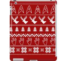 Ugly Christmas on USS Enterprise iPad Case/Skin